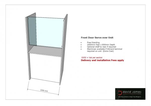 Front door serve over unit
