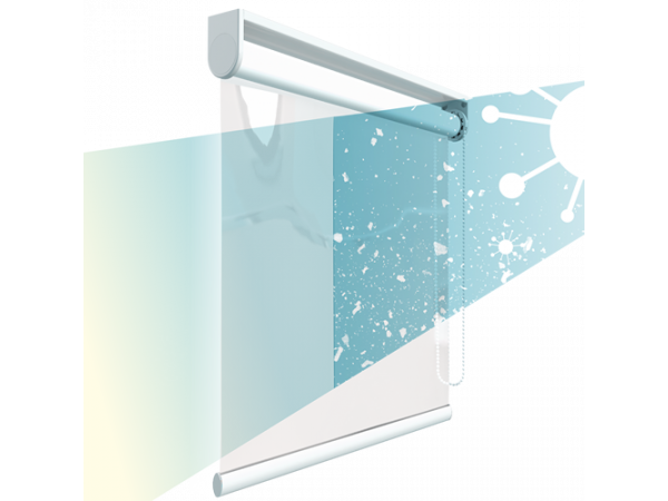 ClearGuard Roller Blind